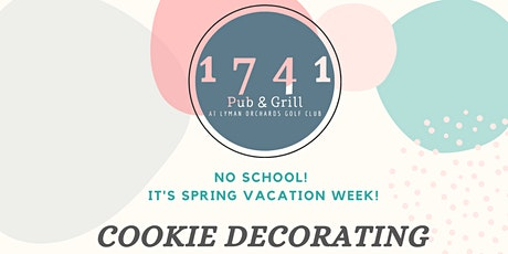 Cookie Decorating Workshop @  1741 Pub & Grill/Lyman Orchards tickets