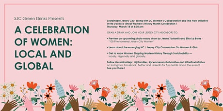 SJC Green Drinks Presents:  A Women's History Month Celebration ! tickets