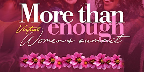 More Than Enough Women's Summit tickets