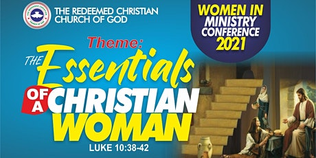 RCCG FOL/REDEMPTION Zone Women in Ministry Conference 2021 tickets