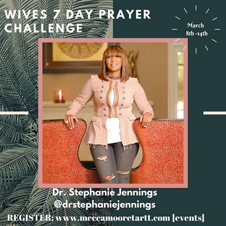 2021 Wives 7 Day Prayer Challenge Kick-Off image