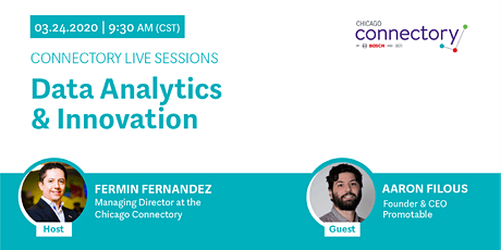 Connectory Live Session: Data Analyics & Innovation tickets