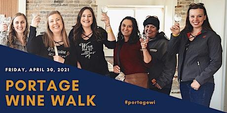 Portage Wine Walk tickets