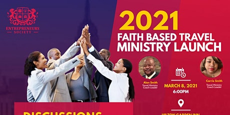 Faith-based Travel Ministry Launch tickets