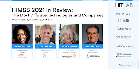 HITLAB's Review of HIMSS: The Most Diffusive Technologies and Companies tickets