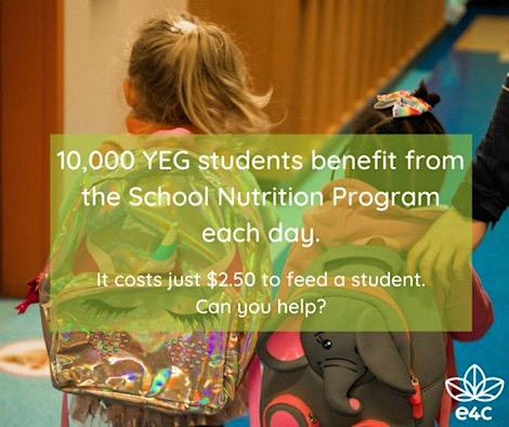 Give & Get Sweaty workout in support of e4c's School Nutrition Program image