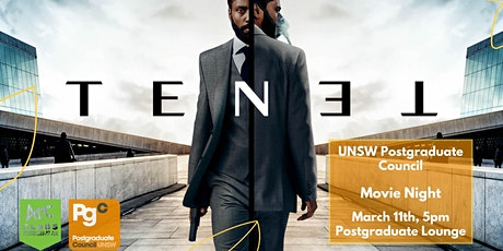 Movie Night: TENET tickets