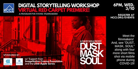 Digital Story Telling Workshop - VIRTUAL PREMIERE tickets