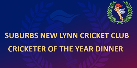 Cricketer of the Year Dinner tickets