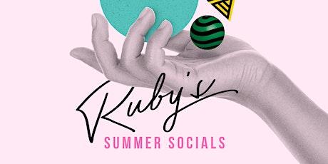 Ruby's Autumn Socials:  Juke Joint Three tickets