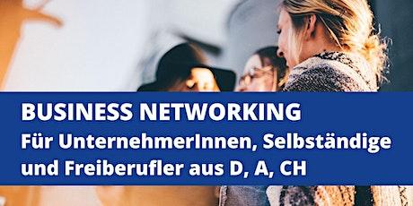 Business Networking f. Unternehmerinnen & Unternehmer aus D, A, CH Tickets