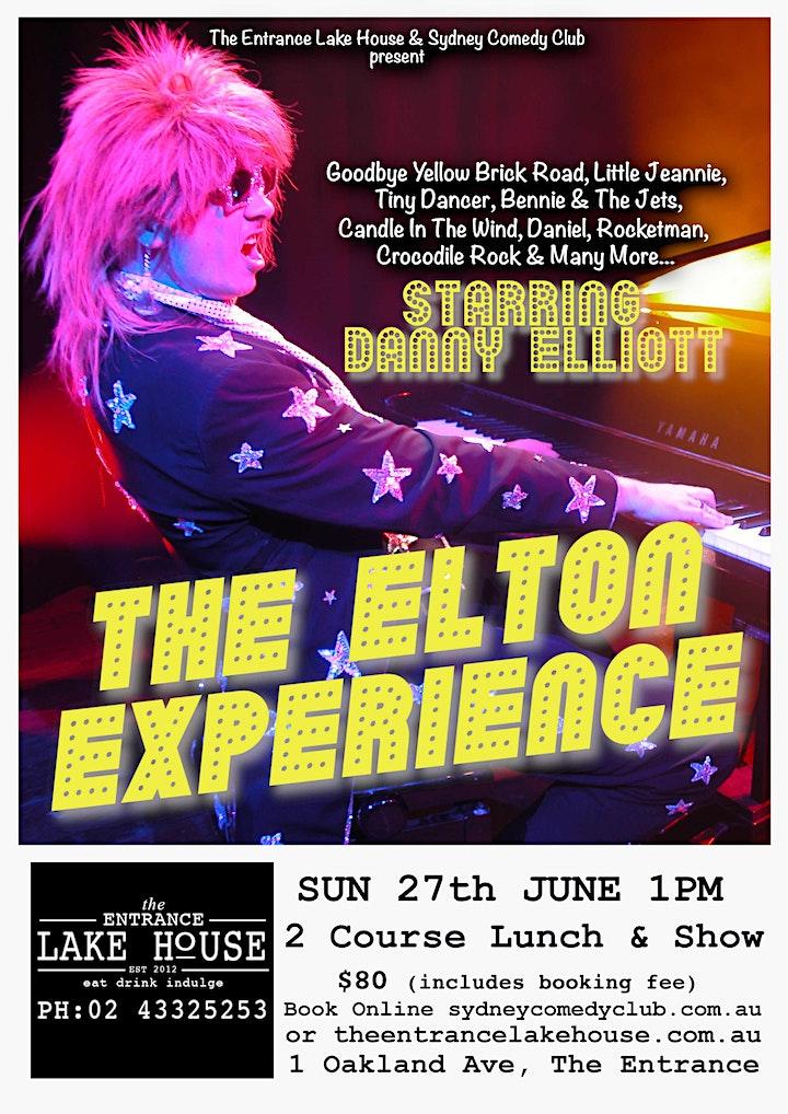 THE ELTON EXPERIENCE - performed by award winning Danny Elliott image