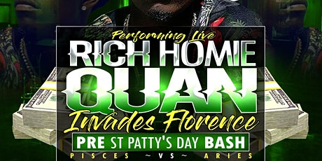 Rich Homie invades Florence tickets