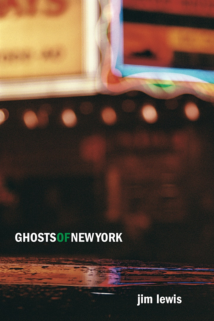 Book Launch: GHOSTS OF NEW YORK by Jim Lewis image