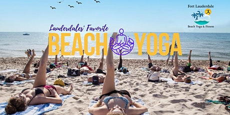 Fort Lauderdale Beach Yoga  (group rate) tickets