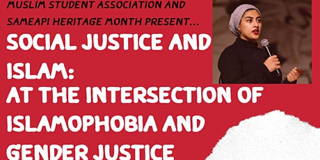 Social Justice & Islam:  The Intersection of Islamophobia & Gender Justice tickets