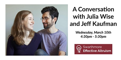 A Conversation with Julia Wise and Jeff Kaufman tickets