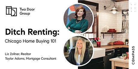 Ditch the Rent: Chicago Home Buying 101 | FREE Webinar with Liz + Taylor tickets