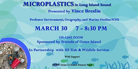 Microplastics in Long Island Sound tickets