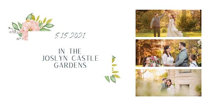 Omaha Spring Garden Elopement Popup Wedding Package image