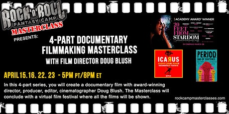 4-Part Filmmaking Masterclass with Doug Blush tickets