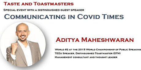 Communicating in Covid Times tickets