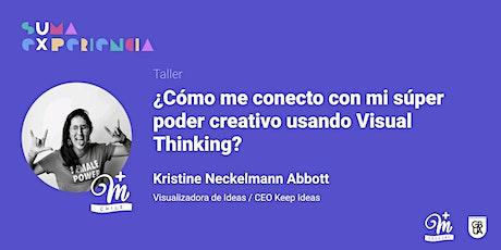 ¿Cómo me conecto con mi súper poder creativo usando Visual Thinking? entradas