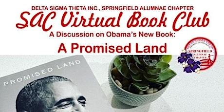 Springfield Alumnae Chapter Delta Sigma Theta Sorority Virtual Book Club tickets