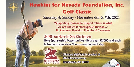 Hawkins for Nevada Golf Classic Henderson, NV tickets