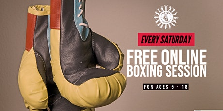 Free Online Youth Boxing Classes - Ages 5-18 tickets