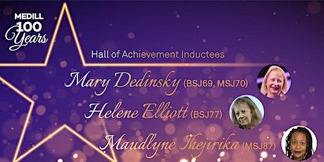 2020 Hall of Achievement  Inductees - Women in Journalism tickets