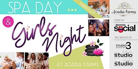 Spa Day / Girls Night Out tickets