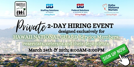 Work for Warriors: Virtual Hiring Event tickets