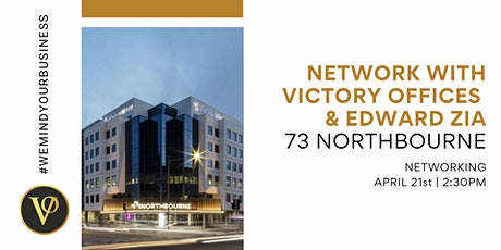 Network with Victory Offices & Edward Zia | 73 Northbourne Ave tickets