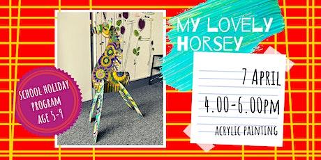 MY LOVELY HORSEY- school holidays fun workshop tickets