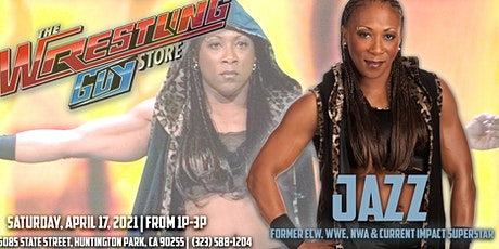 Meet Former WWE Womens Champion Jazz tickets