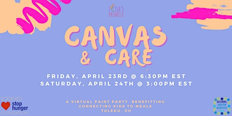 Canvas & Care - A Virtual Art Party biglietti