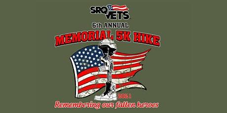 6th Annual SRQ VETS 5k Memorial Hike tickets
