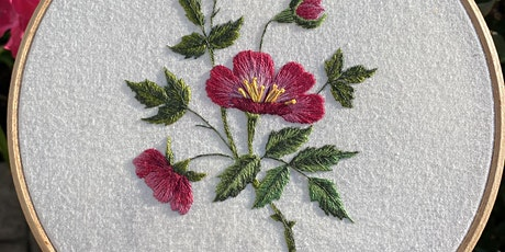 Wild Rose: Embroidery Workshop tickets