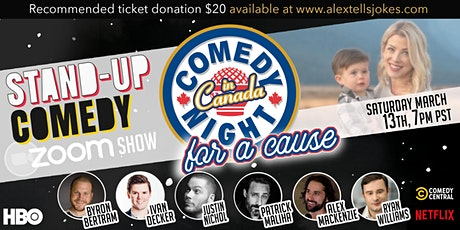 Comedy Night in Canada for a Cause tickets