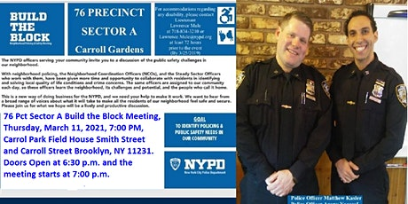 ⦁76 Pct Sector A Build the Block Meeting tickets