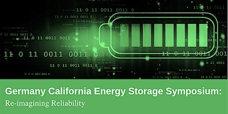 Germany California Energy Storage Symposium tickets