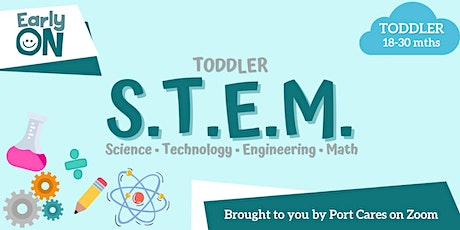 Toddler S.T.E.M - Connecting with Marshmallows tickets
