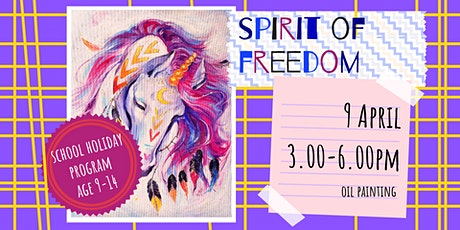 SPIRIT OF FREEDOM - school holidays fun workshop tickets