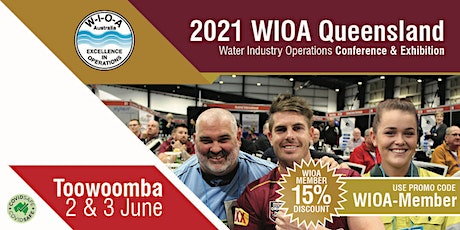 45th Queensland  Water Industry Operations Conference & Exhibition tickets