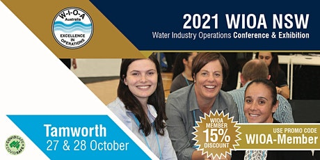 14th NSW Water Industry Operations Conference & Exhibition tickets