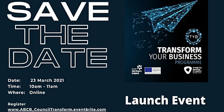 TRANSFORM Your Business  - Launch Event tickets
