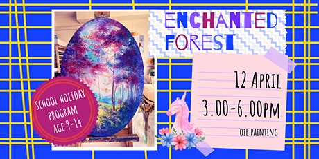 ENCHANTED FOREST - school holidays fun workshop tickets
