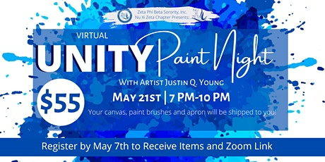 Greek Unity Paint Night tickets