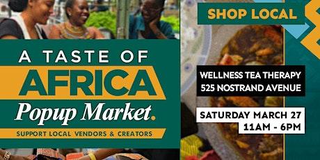 Taste of Africa Popup Market tickets